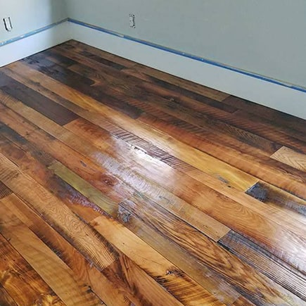 Engineered Reclaimed Mixed Hardwood Flooring By Old