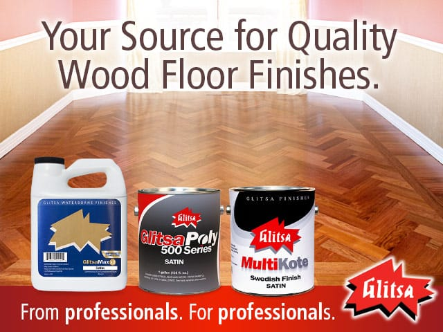 Glitsa - Your Source for Quality Wood Floor Finishes