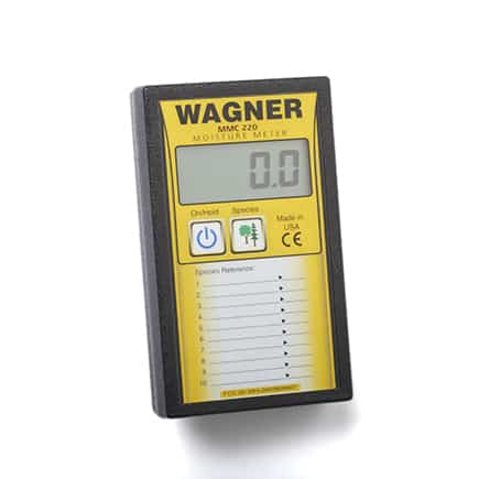 Mmc220 wood moisture meter by wagner meters hardwood for Wood floor moisture meter