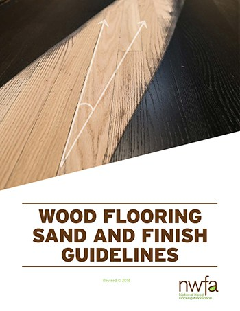 NWFA Sand and Finish Guidelines