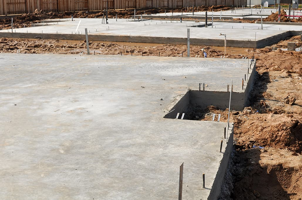 Technical troubleshooting starting with a solid for Slab foundation vs basement