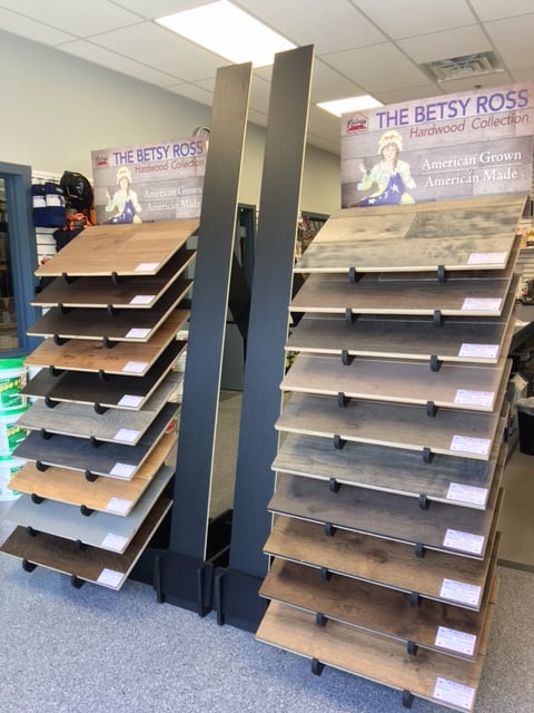 Betsy Ross Hardwood Collection By Fishman Flooring