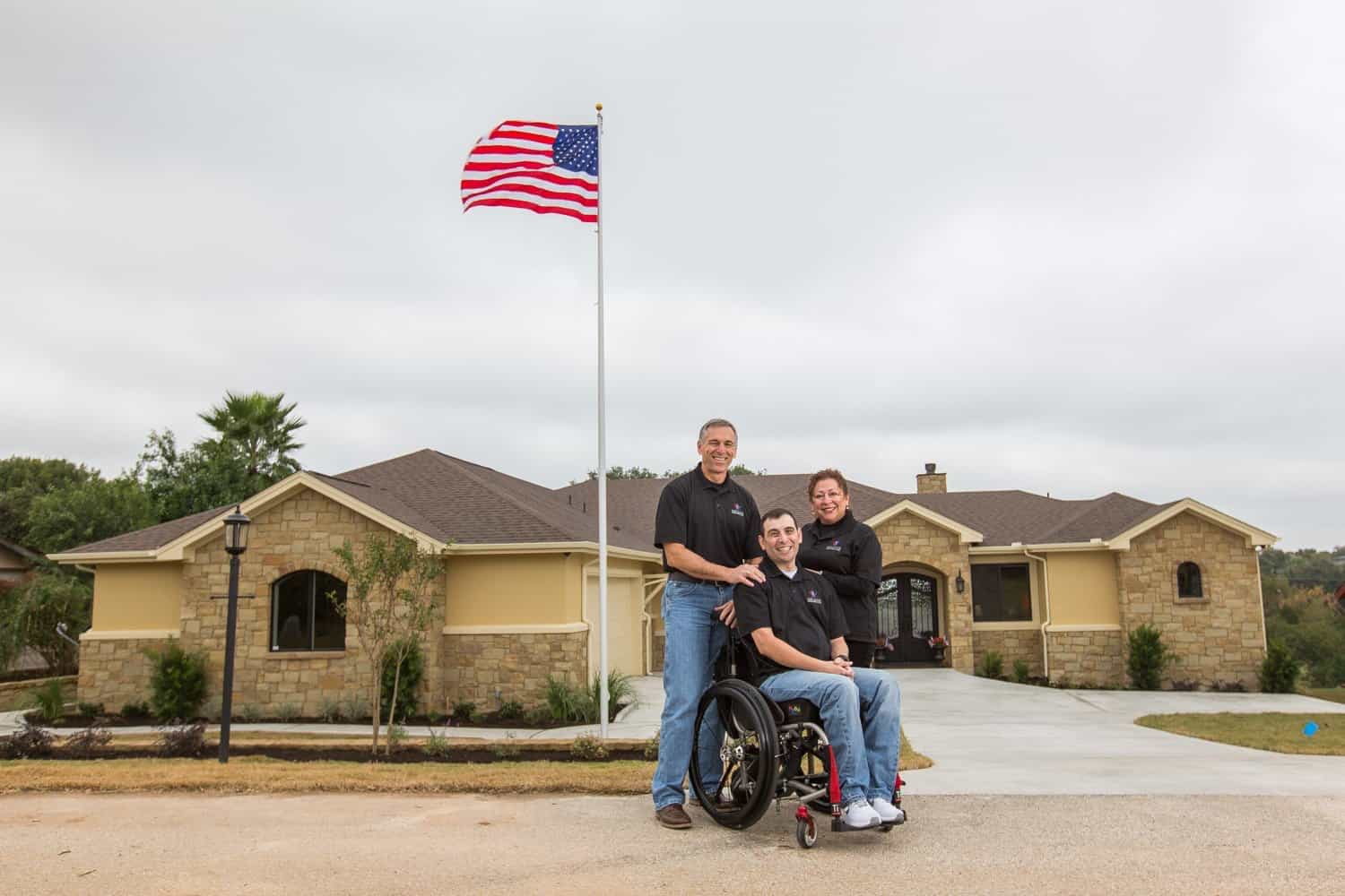 Nwfa Completes 23rd Home With Gary Sinise Foundation
