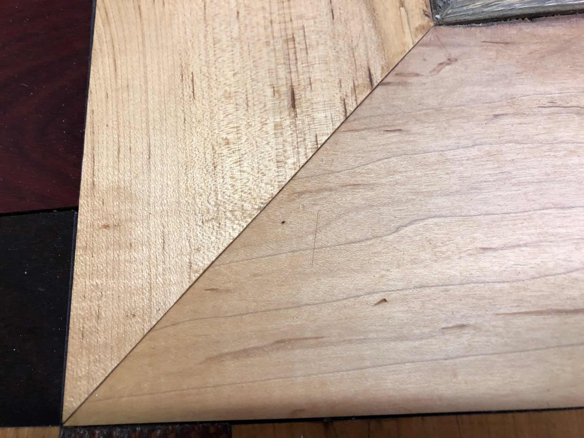 Hardwood Hints Dealing With Mitered Corners Hardwood