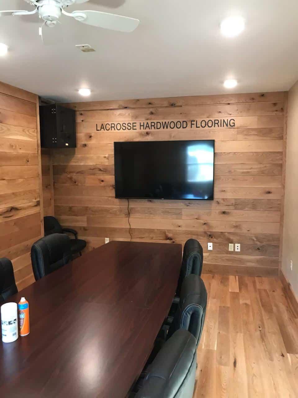 Lacrosse Hardwood Flooring Completes New Customer