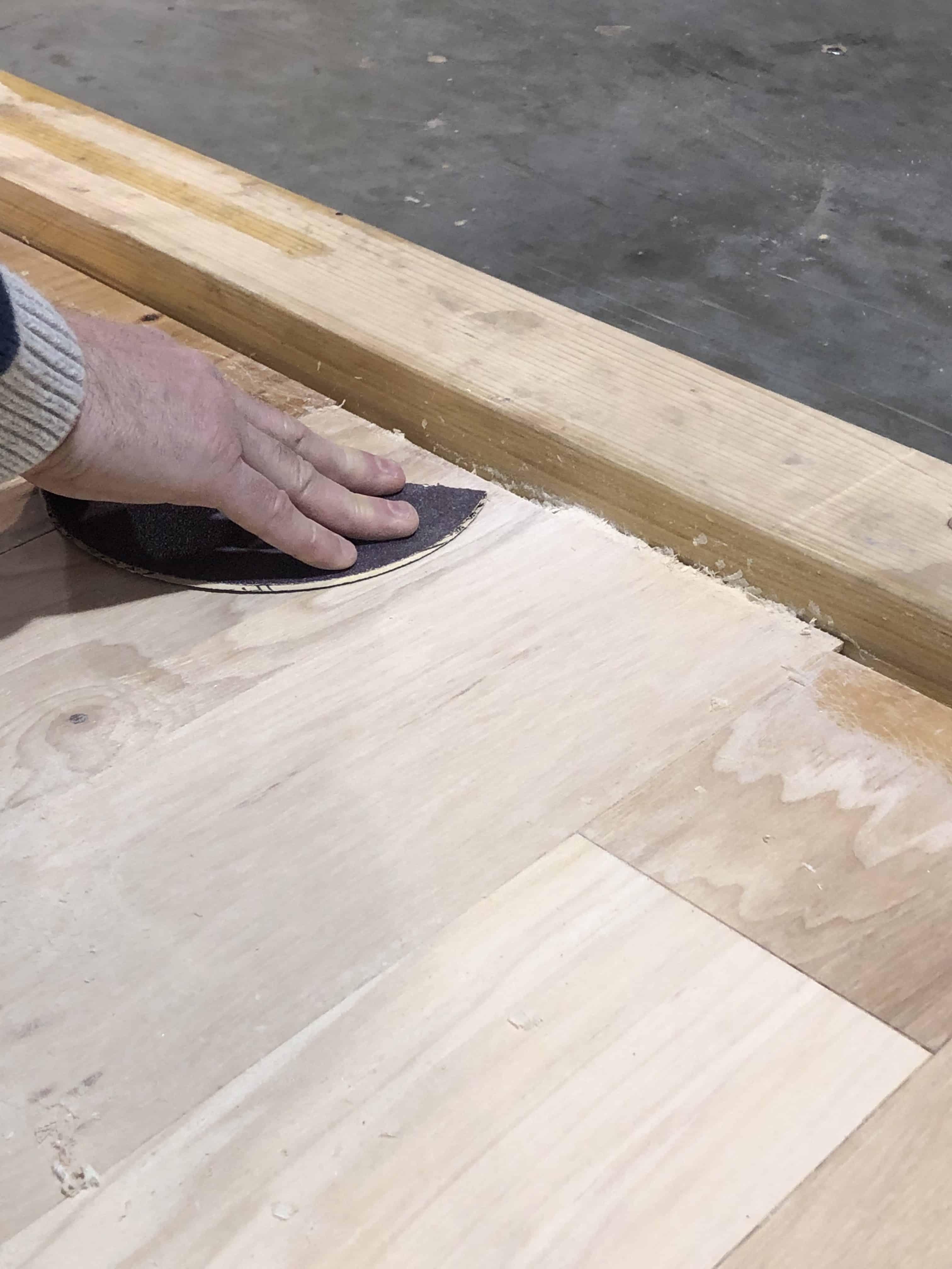 Eliminate Edger Marks Hardwood Floors