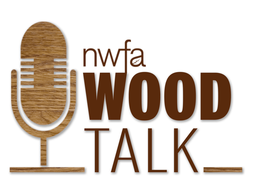 NWFA Wood Talk Podcast Logo