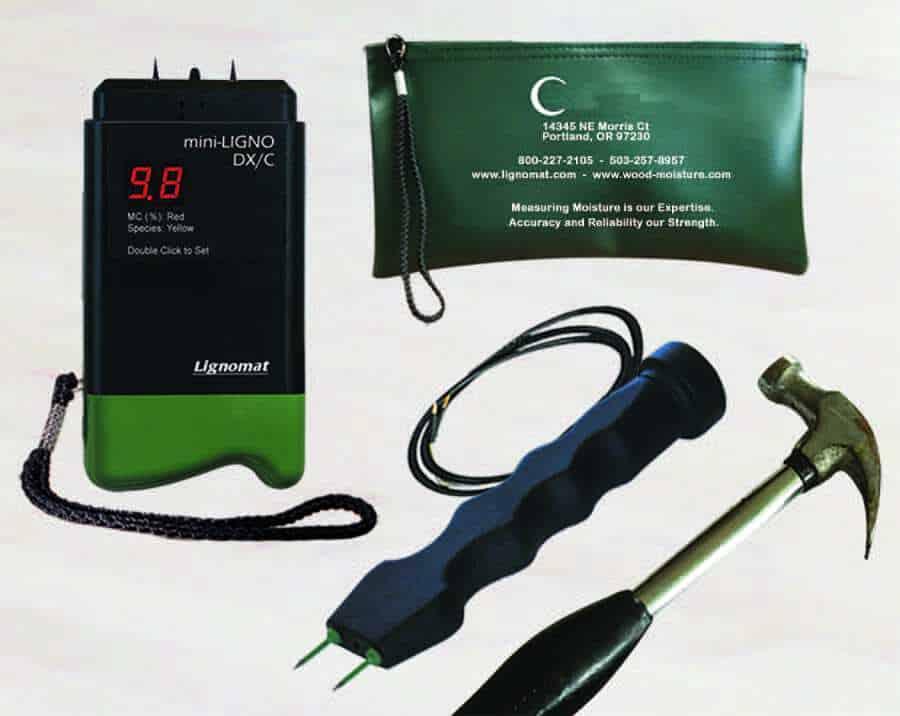 Lignomat Moisture Meter Kit