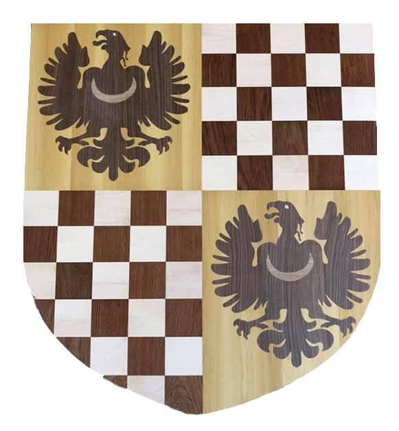 Floor Coat of Arms Inlay