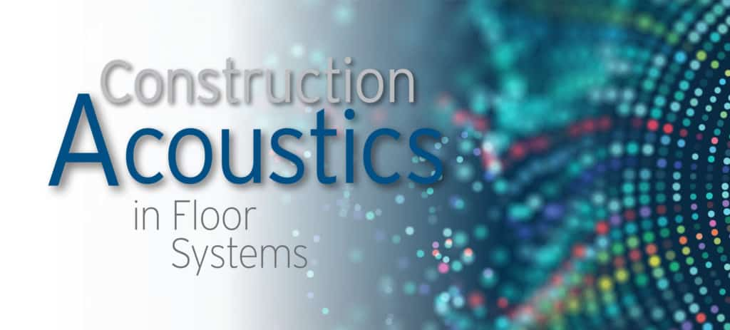 Header Graphic Acoustic in Floor Systems